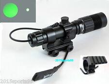 Tactical Green Laser Designator/Illuminator/Flashlight W/ Rilfe Weaver Mount