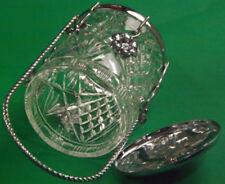 Art Nouveau Clear Art Glassware Date-Lined Glass
