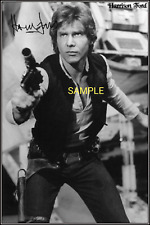 4x6 SIGNED AUTOGRAPH PHOTO REPRINT of Harrison Ford