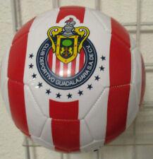 Chivas Del Guadalajara Official Licensed Soccer Ball, New Red White Liga Mx Sz 5