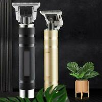 Portable Electric Pro T-outliner Cordless Trimmer Wireless Hair Clipper Set