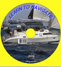 Navigazione a vela, radar, MARINO grafici spiegato VIDEO DVD NUOVO