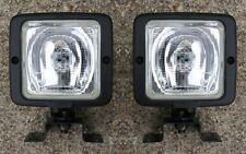 Pair of Britax Square Halogen Worklights / Worklamps Inc Bulbs 12 or 24v