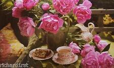 Jigsaw puzzle Landscape Peonies English Tea 500 piece NEW