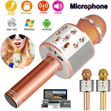 WS-858 Tragbares drahtloses Karaoke-Mikrofon Bluetooth-HIFI-Lautsprecher Selfie