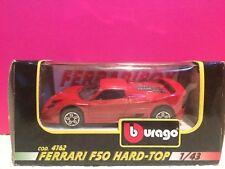 BURAGO SUPERBE FERRARI F50 HARD TOP 1/43 NEUF EN BOITE L2