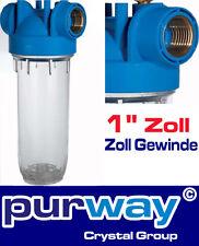 """DP 10 MONO 1"""" OT TS 10"""" Filtergehäuse für Wasserfilter Pumpenfilter Brunnen"""