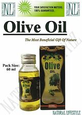 1 x Pure Natural Genuine Olive Oil 60ml (2 Oz)
