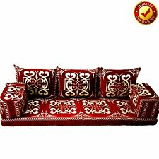 Arabic Floor Seat Sofa Turkish Majilis Oriental Sofas Set Kilim Red Only Covers