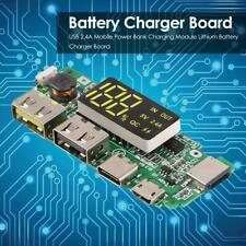 USB 2.4A Mobile Power Bank Charging Module Lithium Battery Charger Board