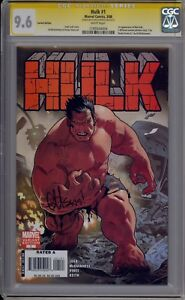 HULK #1 - SIGNED BY ED MCGUINNESS - ACUNA VARIANT - CGC 9.6 - 1193044004