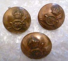 Button-  Royal Artillery Regiment Button, 24 , 25 mm 3 pcs