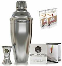 Mixology Cocktail Shaker Bartender Set 5 pcs 24 oz Bar Tool Kit Accessories – 30