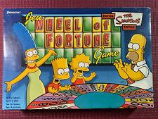 simpsons wheel of fortune Pressman 2005 # 5559