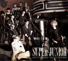 KPOP SUPER JUNIOR JAPAN LIMITED SPECIAL EDITION -SUPER SHOW3 (CD+DVD)[Promo]