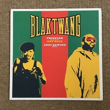 "Blak Twang Trixstar 12"" Single w. Banksy Art Sleeve (2002, Dismaland, Unsigned)"