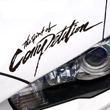 "The Spirit of Competition Sticker | Mitsubishi evo Vinyl Decal  6"", 7"", 8"", 9"""