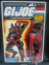 NEW G.I.JOE BLACK MAJOR CUSTOM VAMPIRE B.A.T. MOC.