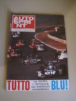 AUTOSPRINT 29/1974 - Matra / Depailler / Peterson / GP Francia / Bmw 3300 L