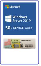 Windows Server 2019 Standard/Datacenter 50 DEVICE OEM CALs