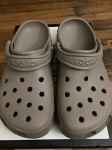CROCS Classic Unisex Clog Khaki Tan Brown US Women 7/Mens 5