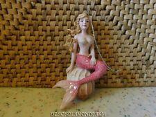Resin Mermaid Ornament On Shell *Nice*