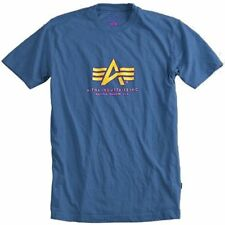 Magliette da uomo blu Alpha