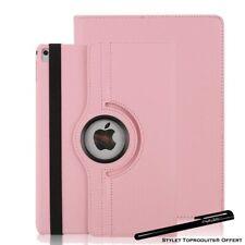 Housse Etui Rose pour Apple iPad Pro 12.9 2015/2017 Coque Support Rotatif 360°
