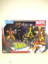 Marvel Universe THE UNCANNY X MEN ROGUE WOLVERINE CYCLOPS LONG SHOT 3.75in SET