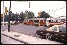 Original Trolley Slide MBTA Boston Massachusetts Kodak Ektachrome Streetcar Rail