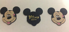 3x loved up Mickey Mouse genuine Disney collectable Guitar plectrums picks (NEW)