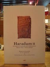 F. Joannès Haradum II  textes période paléo-babylonienne ERC  2006