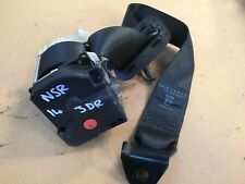Vauxhall Corsa C Passenger Side Rear Seat belt NSR 3 Door 00 - 06 GM 09114804