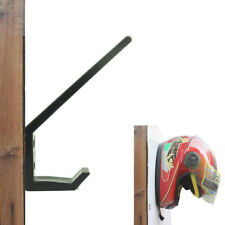 Motorcycle Helmet Holder, Jacket Hanger, Motorbike Wall Mount Display Rack Stand
