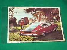 1965 3D POSTCARD AMC MARLIN RAMBLER ROUTE 66 SALESMAN CARD VTG HOTROD MUSCLE CAR