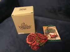 Harmony Kingdom Double Red Rose Lord Byron's Harmony Garden