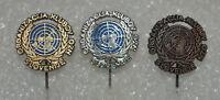 UN United Nations Slovenia vintage political lapel stick pin badge Anstecknadel