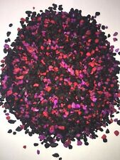 Fish tank aquarium terrarium gravel pebbles Neon Cherry Berry - 2kg