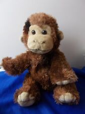 "Monkey plush stuffed toy 13"" Kellytoy wild animal Zoo pet chimp ape"