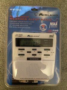 Midland WR -100 Digital Weather Alert Radio - All Hazards NOAA Public Alert SAME