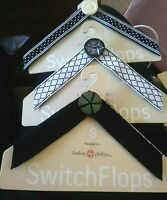 LINDSAY PHILLIPS SWITCH FLOP STRAPS Size Small Lot of 3 for Switch Flops Sandals