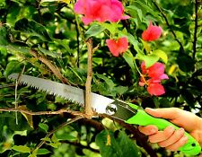 "FOLDING HAND SAWS ALL PURPOSE - 17"" Rugged Tree Trim, Razor Tooth Pruning Saw"