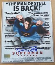 BRANDON ROUTH SUPERMAN RETURNS SIGNED 8x10 WITH COA