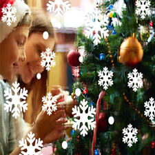 Large Christmas Snow Snowflake Window Sticker Decal Vinyl Xmas Decor Art DIY