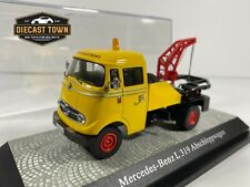 Mercedes Benz L 319 Premium Classixxs Tow Truck 1/43 Yellow Limited Edition