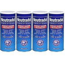 4 X NEUTRADOL Original Carpet Odour Destroyer Air Freshner Vac N Clean 350 g