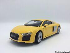 Audi R8 V10  gelb 2016  -  1:18 Welly  >>>SALE <<<<<