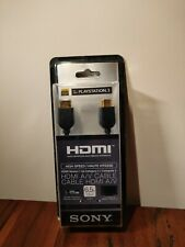 Sony HDMI DLC-HD20P Playstation 3 High Speed Cable New-Old Stock DLCHD20P
