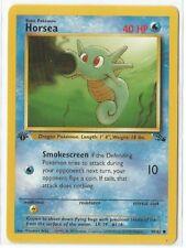 Pokemon 1st Edition Fossil set Horsea 49/62 common NM Condition