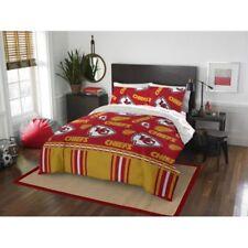 Kansas City Chiefs Nfl Queen 5 Piece Comforter Bedding Team Logo Bed in Bag Set